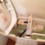 トイレタンク内の黒カビ