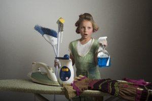 洗剤と道具